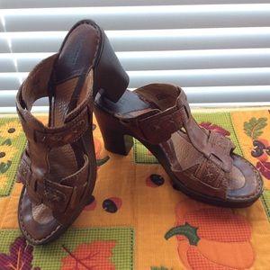 Born leather sandals - Size 8